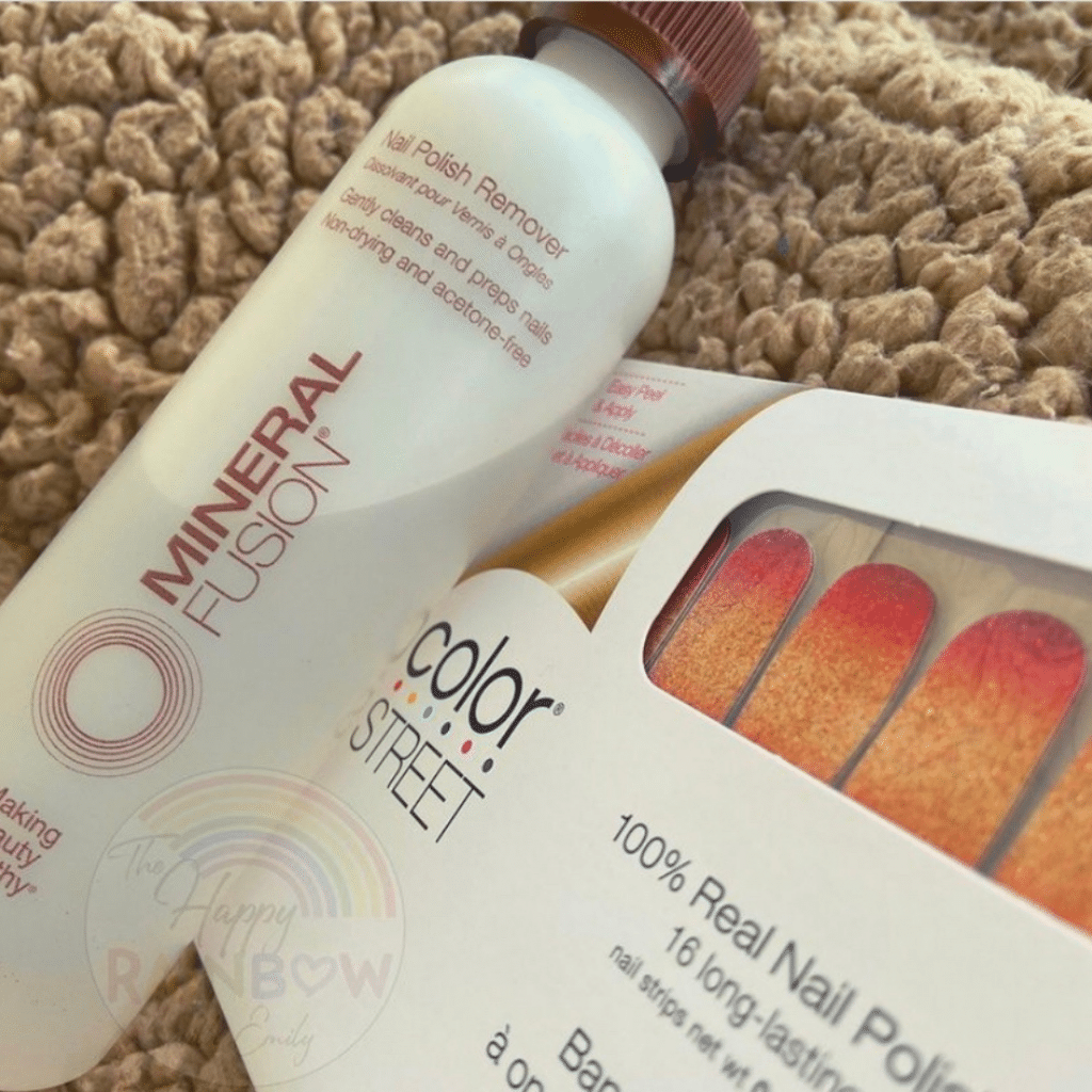 The best nail polish remover for Color Street nails