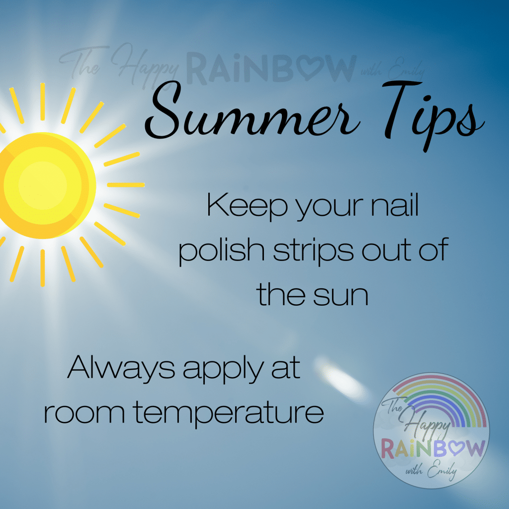 the beginner's guide to Color Street summertime tips for nail polish strips