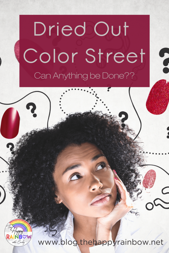 Learn how to revive dried out Color Street strips